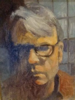 Portrait painting of Benny Melton