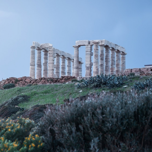 Poseidon Temple in Greece