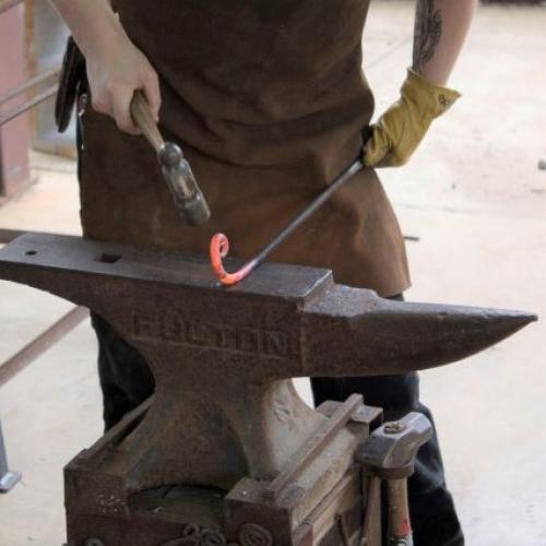 blacksmith demonstration